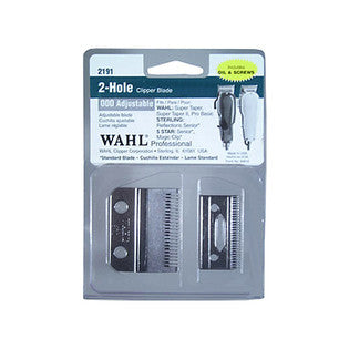 Wahl 2-Hole Clipper Blade 000 Adjustable