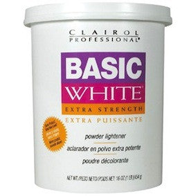 Clairol Basic White Extra Strength Powder Lightener 16oz
