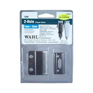 Wahl 2-Hole Clipper Blade 1mm-3mm