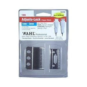 Wahl Adjusto-Lock Clipper Blade 1mm-3mm