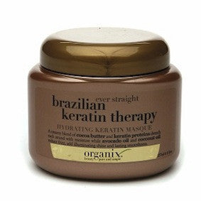 Organix Ever Straight Brazilian Keratin Therapy Hydrating Keratin Masque 8oz