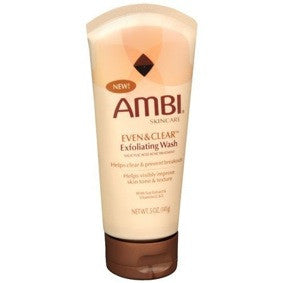 Ambi Even & Clear Exfoliating Wash 5oz