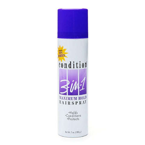 Condition 3-in-1 Hairspray Maximum Hold Aerosol 7oz