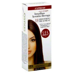 Organix Ever Straight Brazilian Keratin Therapy 14 Day Smoothing Treatment 3.3oz