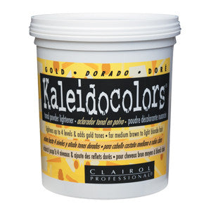 Kaleidocolors Gold Tonal Powder Lightener 8oz