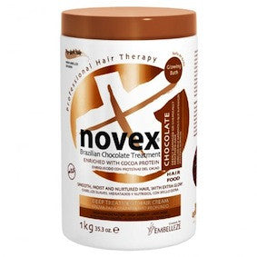 Embelleze Novex Brazilian Chocolate Hair Care Treatment Cream 35.3.oz