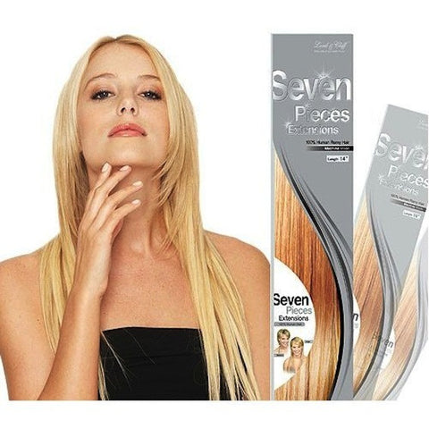 "Lord & Cliff Seven Pieces Extensions 18"" 100% Human Hair"