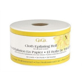 Gigi Cloth Epilating Roll for all Soft Waxes 50yds