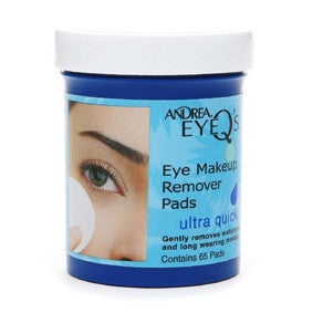 Andrea Eye Q's Makeup Remover Pads Ultra Quick 65ct