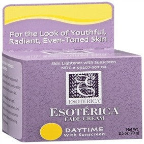 Esoterica Fade Cream Daytime with Sunscreen 2.5oz