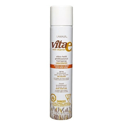 Lamaur Vita E Unscented Ultra Hold Hair Spray Aerosol 10oz