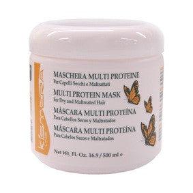 Kismera Multi Protien Mask for Dry And Maltreated Hair 16.9oz