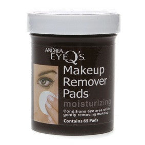 Andrea Eye Q's Makeup Remover Pads Moisturizing 65ct