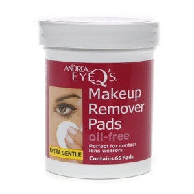 Andrea Eye Q's Makeup Remover Pads Oil-Free 65ct