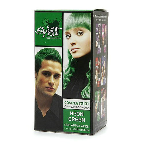 Splat Hair Color Complete Kit Neon Green