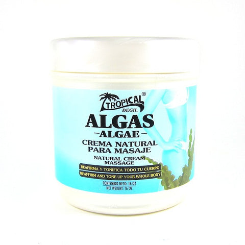 Tropical Algae Natural Massage Cream 16oz