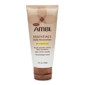 Ambi Essentials Daily Moisturizer with SPF 15 2oz