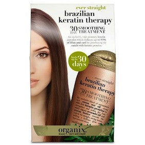 Organix Ever Straight Brazilian Keratin Therapy 30 Day Smoothing Treatment 3.3oz