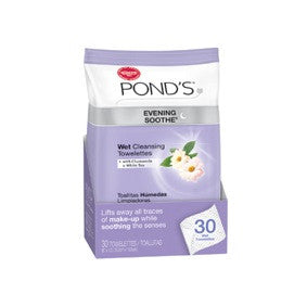 Pond's Evening Soothe Wet Cleansing Towelettes 30ct