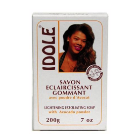 Idole Lightening Exfoliating Soap with Avocado Powder 7oz
