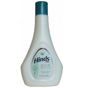 Hind's Natural Lotion with Aloe & Vitamin A 14.2oz