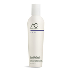 AG Curl Liquid Effects Extra-Firm Styling Lotion 8oz