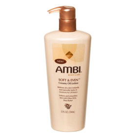 Ambi Soft & Even Creamy Oil Lotion 12oz
