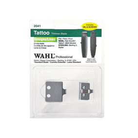 Wahl Tattoo Trimmer Blade Designs/ Lines