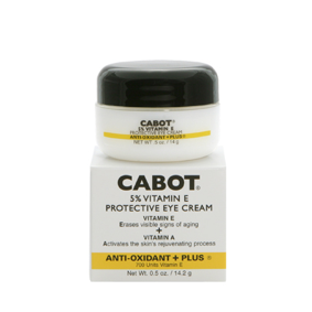 Cabot 5% Vitamin E Protective Eye Cream 0.5oz