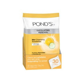 Pond's Exfolaiting Renewal Wet Cleansing Towelettes 30ct