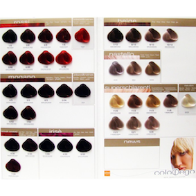 Platinum permanent hair color chart bellamoi alter ego hairstyles