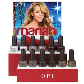 OPI 2013 Mariah Carey Liquid Sand Holiday Collection