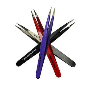 Tweezerman Professional Point Tweezers (Assorted Colors)