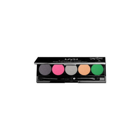 NYX 5 Color Shadow The Caribbean Collection