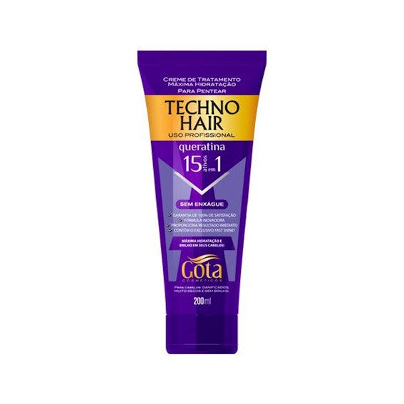Gota Techno Hair Keratin Leave In Treatment 6.76oz