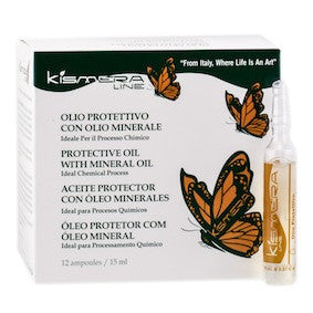 Kismera Protective Oil with Mineral Oil 12 vials x 15ml