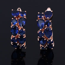 Load image into Gallery viewer, LXOEN Classic Semi-precious Stone Stud Earrings