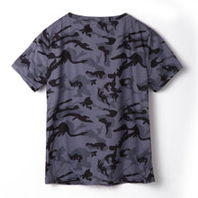 Load image into Gallery viewer, Short Sleeve Camo Shirt