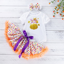 Load image into Gallery viewer, Tutu Baby Birthday Set 3 Pcs