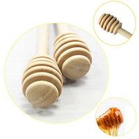 High Quality 1Pc Wood Honey dipper sticks (can be used on other condiments)
