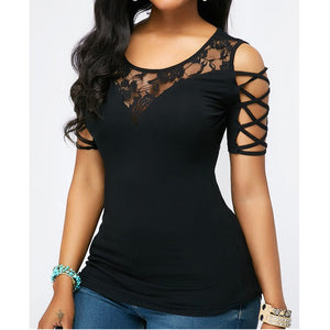 Newest Style Women Casual Off Shoulder Slim Top