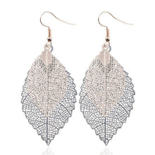 Load image into Gallery viewer, Colorful Leaf Drop Dangle Earrings