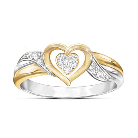 Cute Small Heart Ring