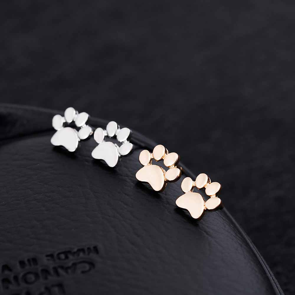 KISSWIFE Cute Paw Print Earrings