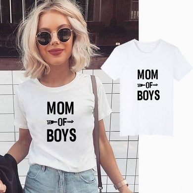 Showtly Mom of Boys T-shirt