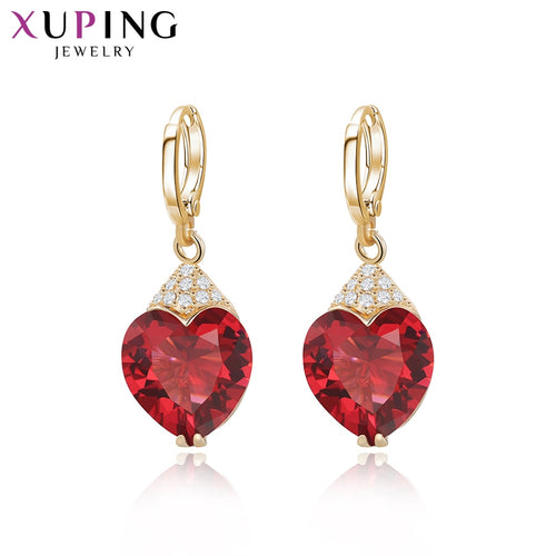 Xuping Fashion Synthetic Cubic Zirconia Eardrops earrings
