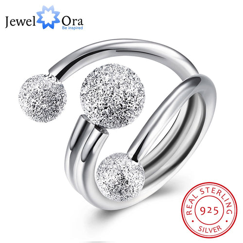 Surround Design Ball Adjustable 925 Ring