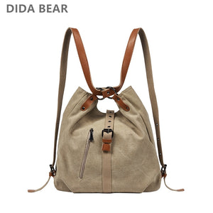 DIDABEAR Brand Canvas Tote Bag