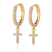 Load image into Gallery viewer, New Fashion Cute Cross Earrings