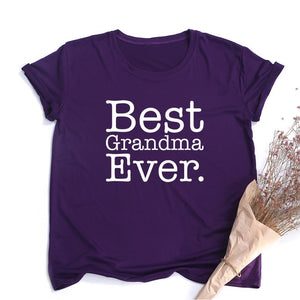 Best Grandma Ever Women T-shirt
